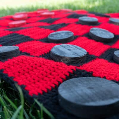 Giant Checkerboard crochet pattern