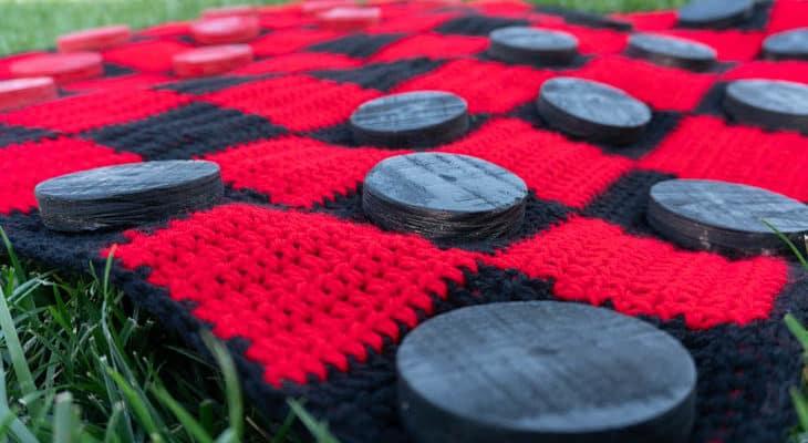 Giant Checkerboard crochet pattern