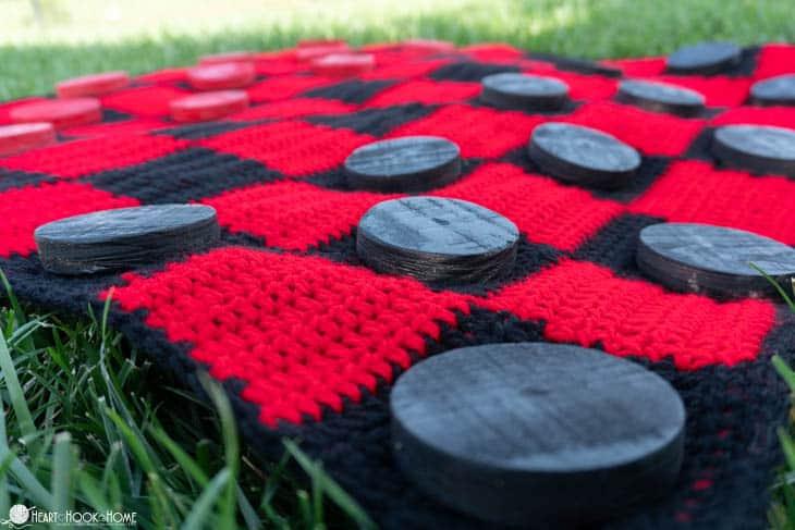 Checker Board Crochet Pattern