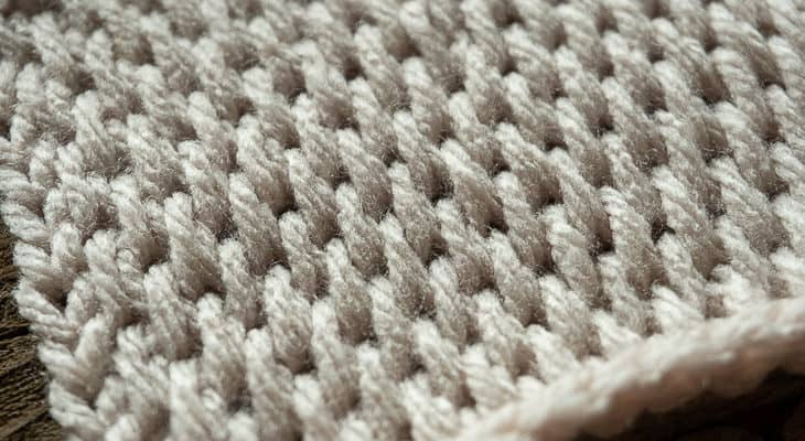 How to crochet the Tunisian Full Stitch