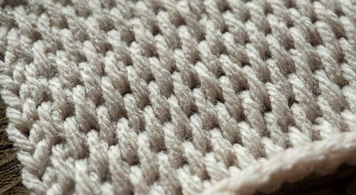 How to crochet the Tunisian Full Stitch