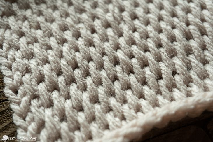 Tunisian Full Stitch Crochet Tutorial