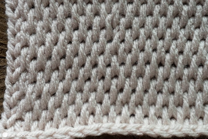 How to crochet tunisian full stitch