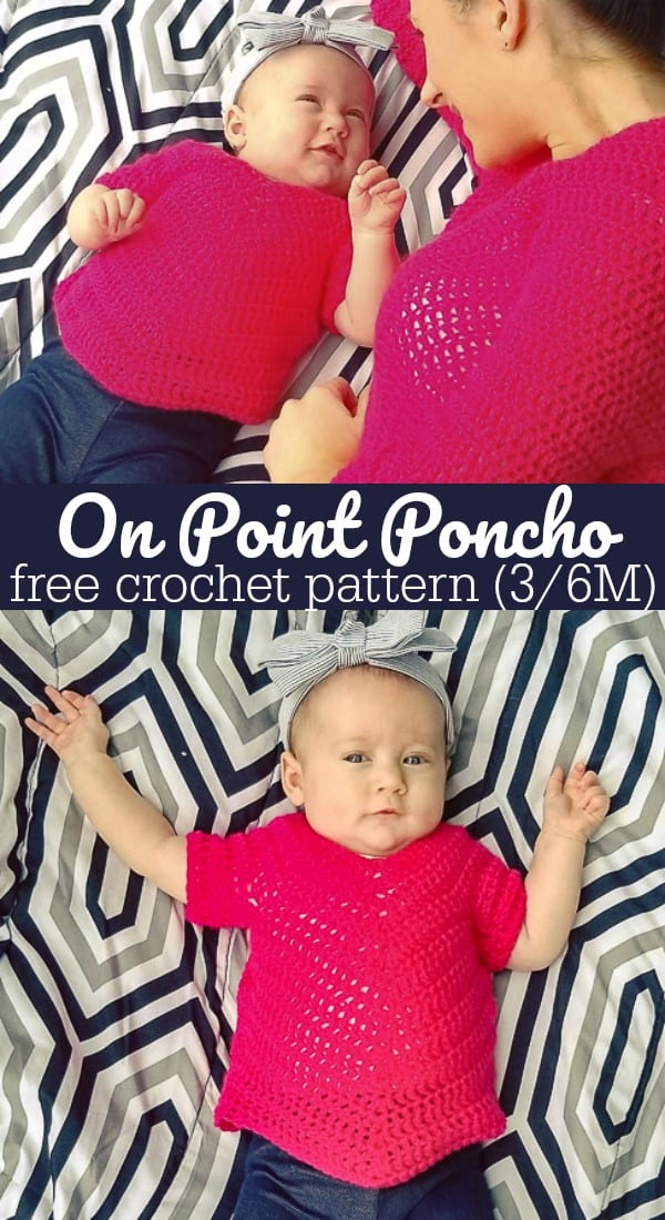 3/6 Month On Point Poncho