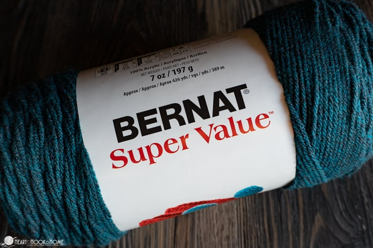 Bernat super value worsted weight yarn