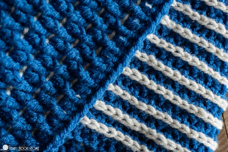 reversible cowl crochet pattern