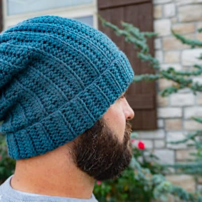 Basic Back Loop Beanie Crochet Pattern