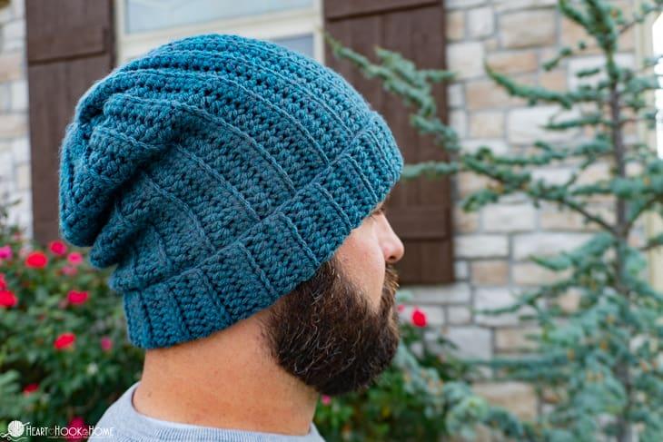 Basic Back Loop Beanie Free Crochet Pattern 7 Sizes,Porcini Mushrooms