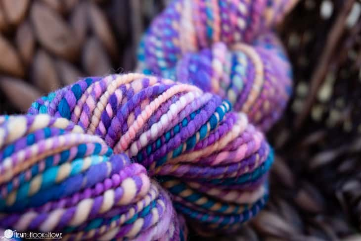 Gorgeous handspun yarn