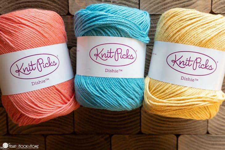 Dishie cotton yarn