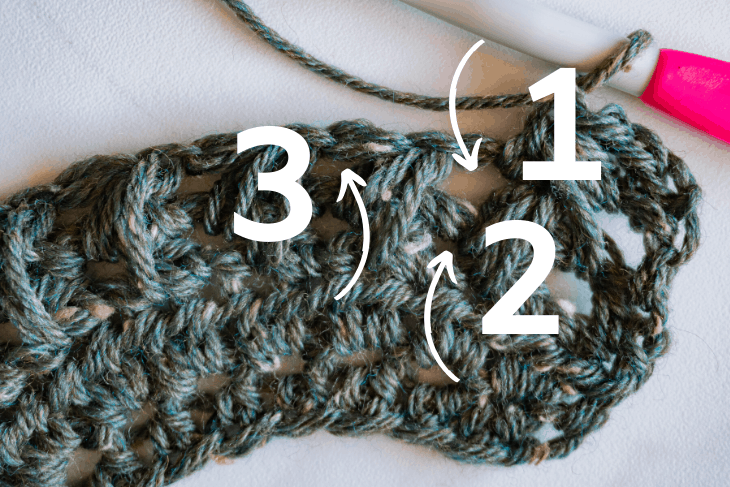 feather stitch placement