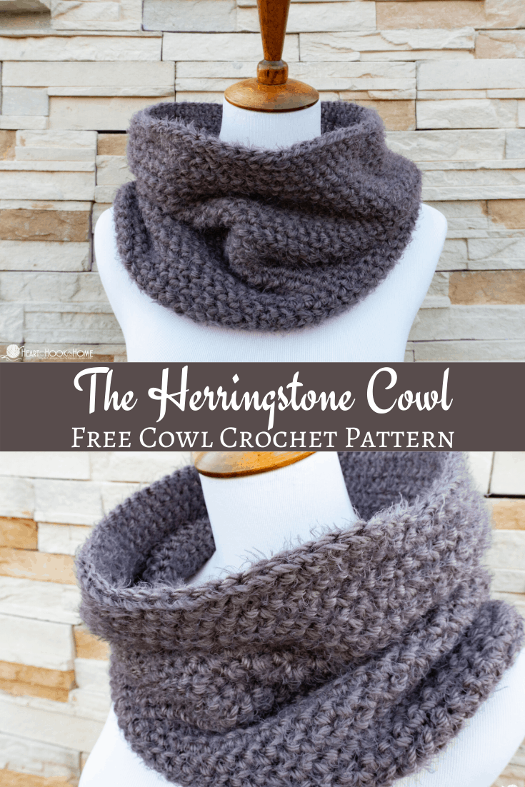The Herringstone Cowl crochet pattern