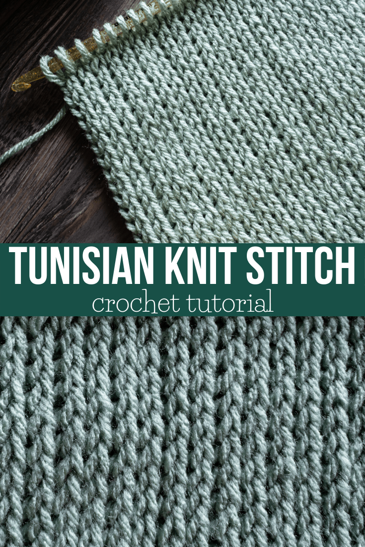 How to Crochet Tunisian Knit Stitch