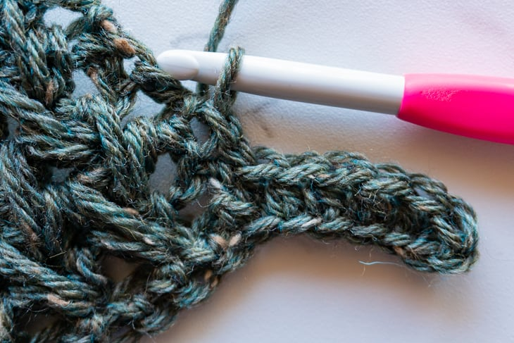 how to add edging to crochet as you go