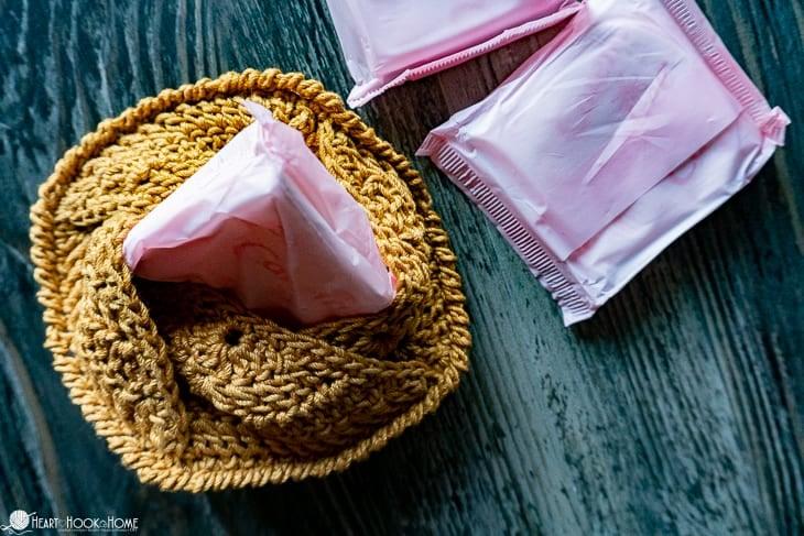 personal pouch crochet pattern