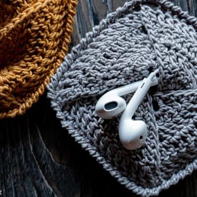free crochet personal pouch pattern