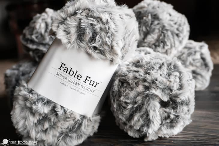 faux fur yarn