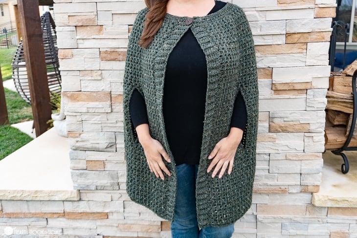 cordillera cape crochet pattern