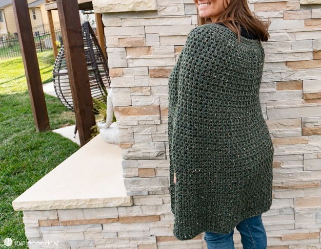 free cape crochet pattern