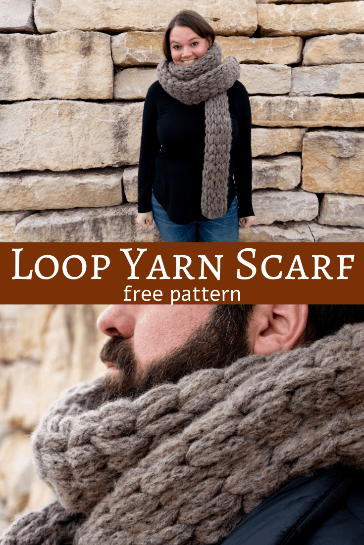 How to Make a Loop Yarn Scarf