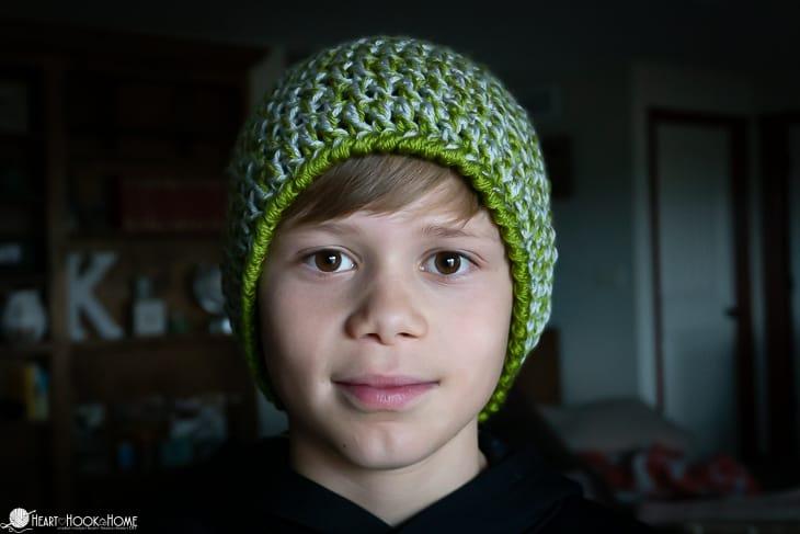 Easy Peasy 30 Minute Beanie Crochet Pattern
