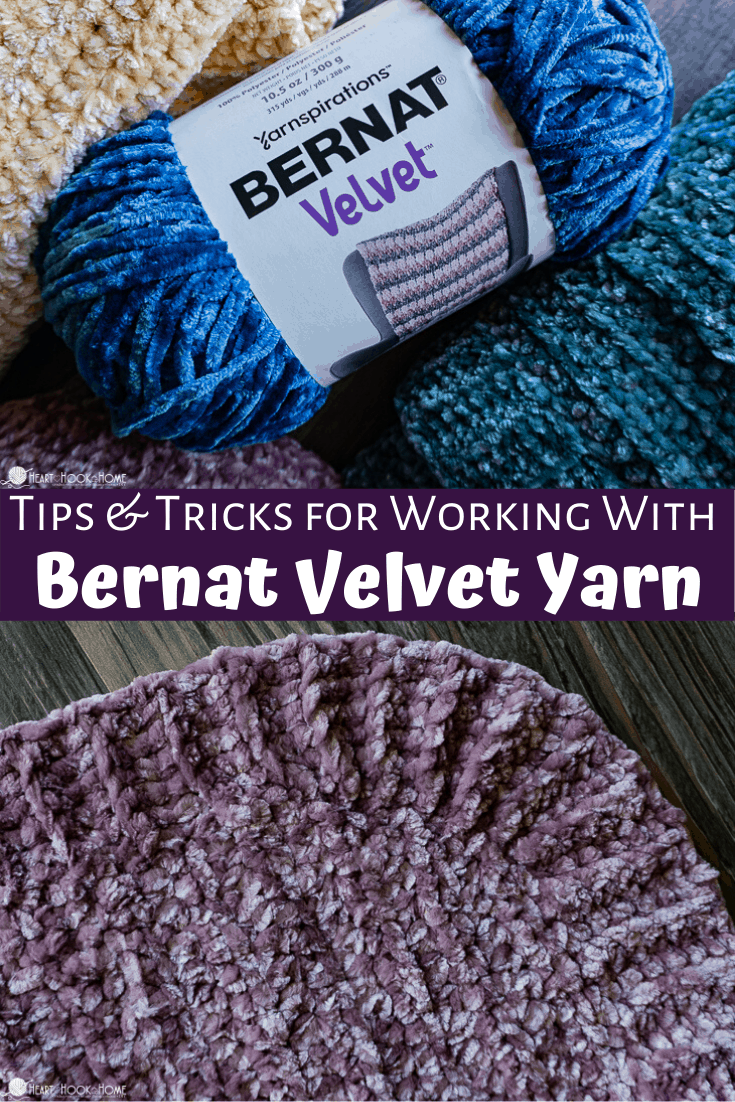Velvet yarn tips & tricks