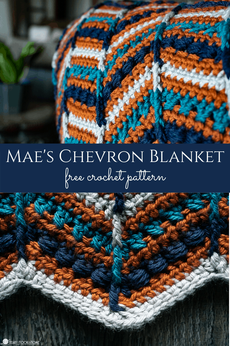 Mae's Chevron Crochet Pattern