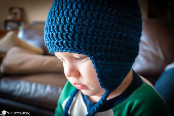 ear flap tutorial crochet