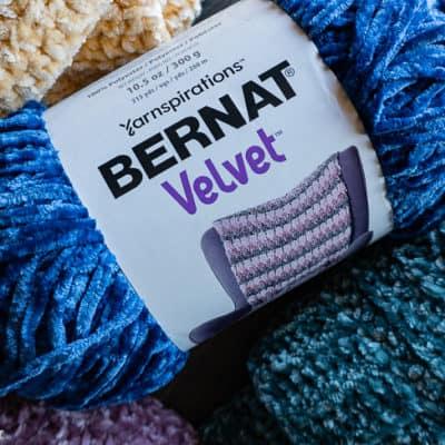 Bernat Velvet yarn review