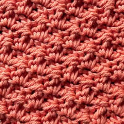 Thicket Stitch crochet tutorial