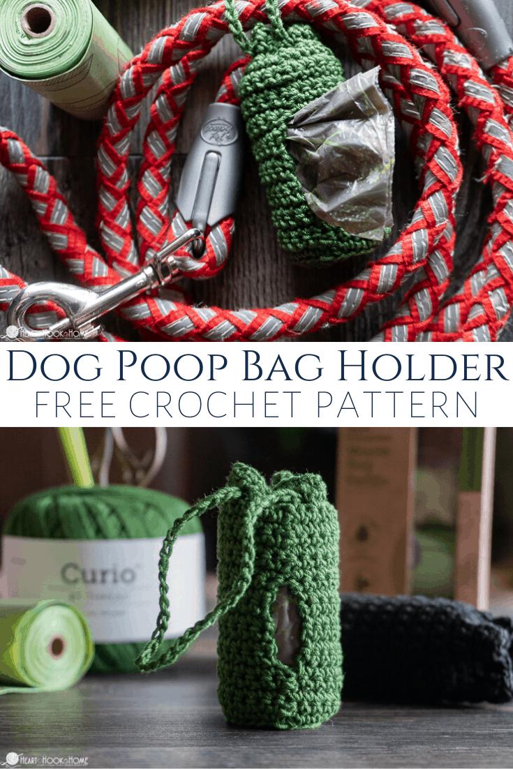 Dog waste bag dispenser pattern