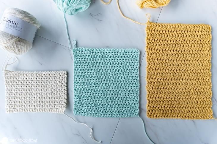 identify crochet stitches
