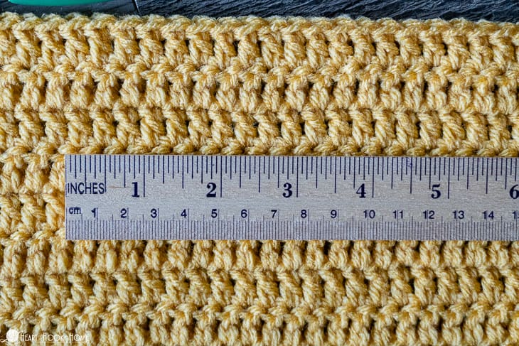 determining yardage for a blanket
