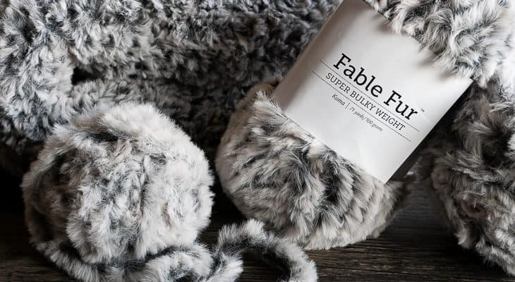 tips for working with faux fur yarn