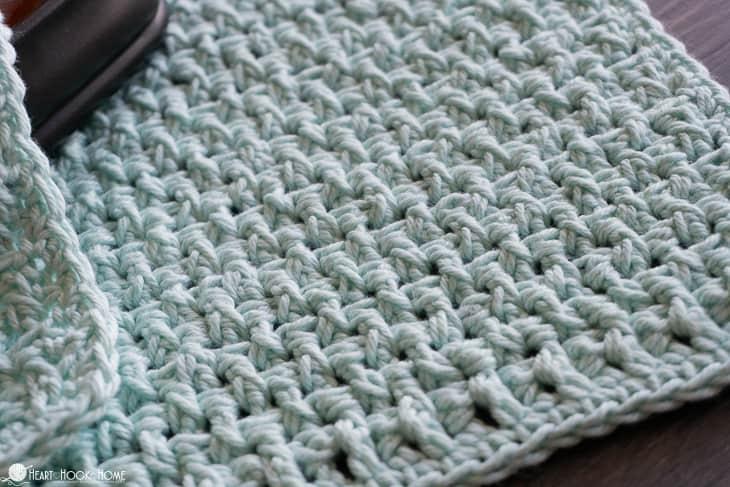 Rice Stitch cloth pattern