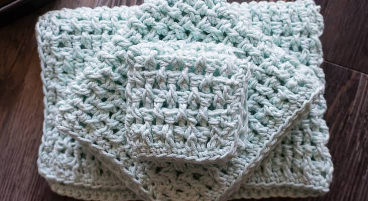 Rice Stitch Cloth Pattern