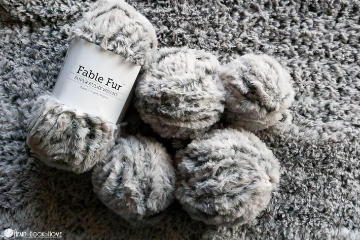 yarn fur balls