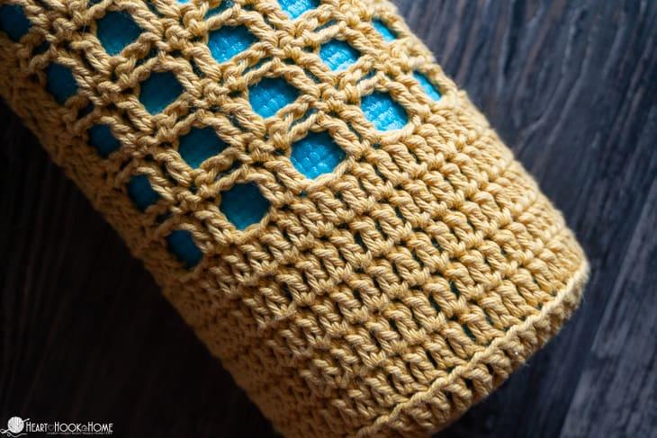 Crochet yoga mat carrier pattern