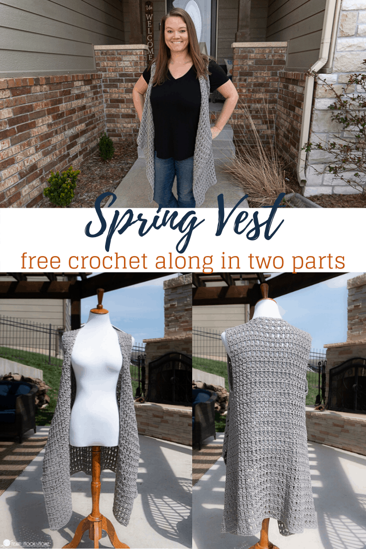Spring Vest Crochet Pattern