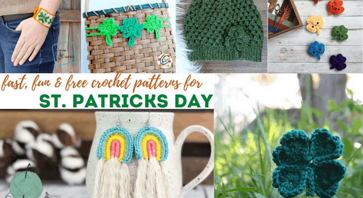 fast free st patricks day crochet patterns