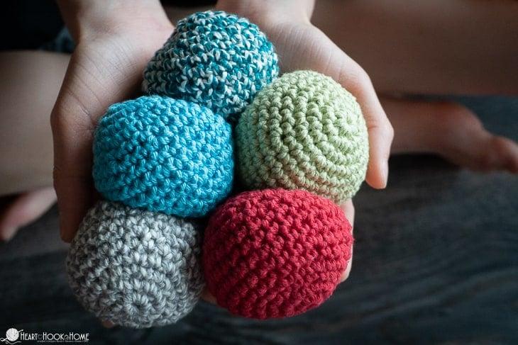 Hacky Sack Crochet pattern