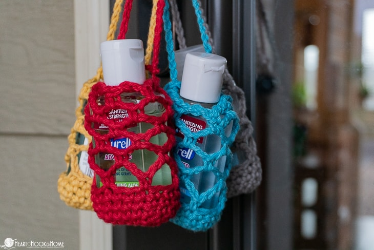 travel size hand sanitizer holder