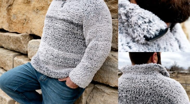 men's sherpa crochet pattern