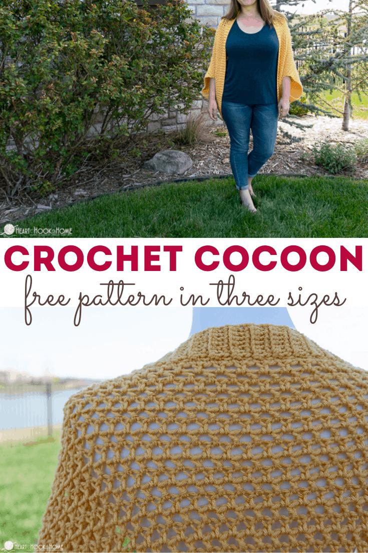 Cocoon Sweater Crochet Pattern