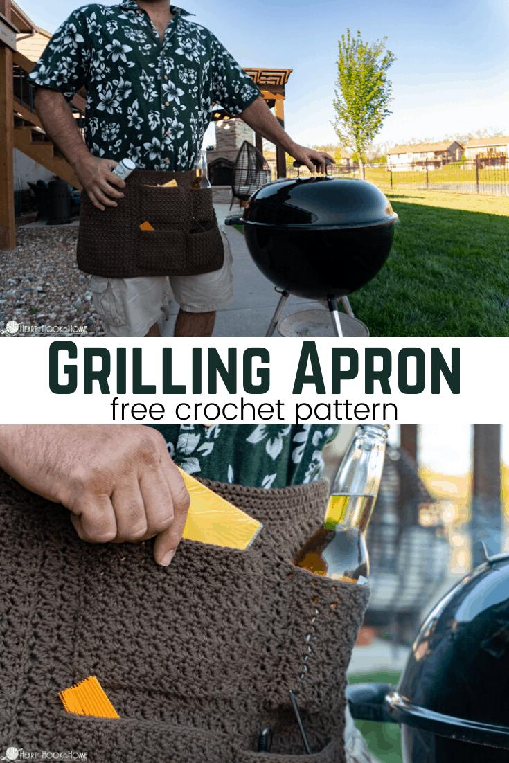 Grilling Apron Crochet Pattern