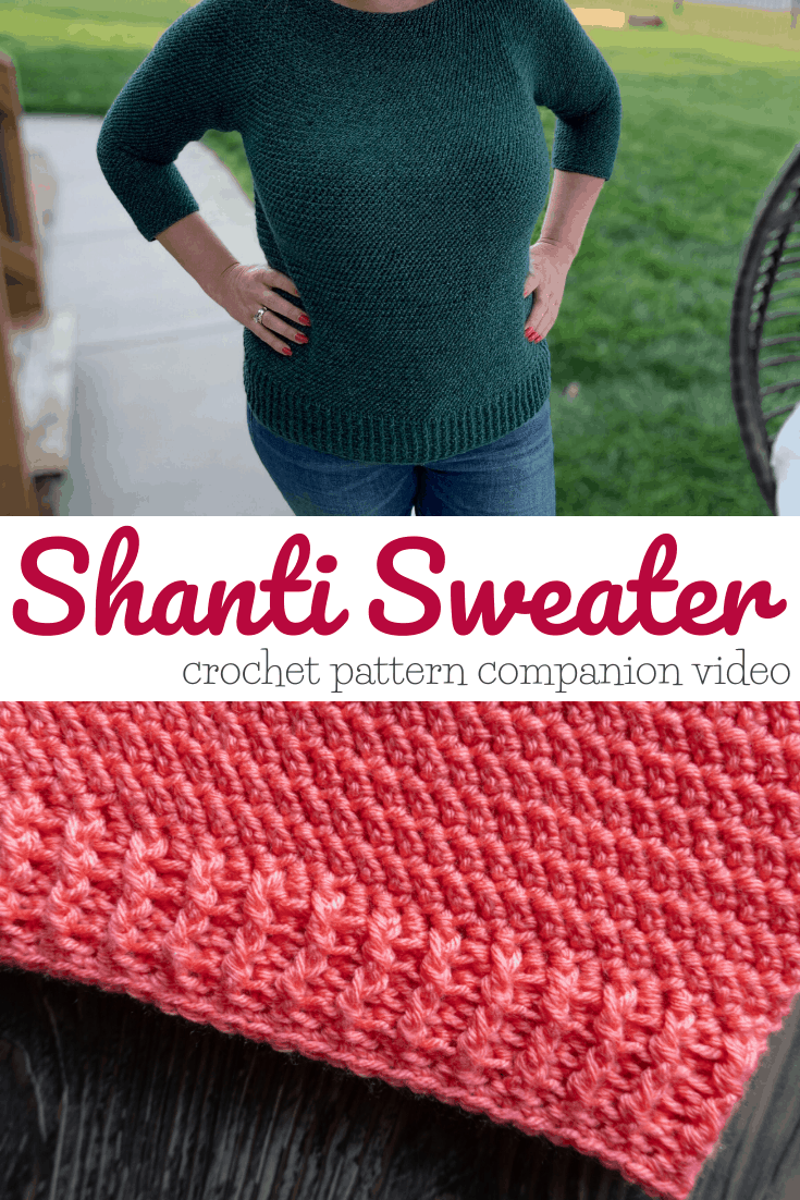 Shanti Sweater companion video tutorial