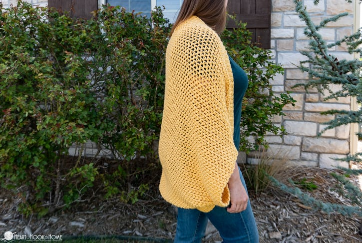 how to crochet a cocoon sweater