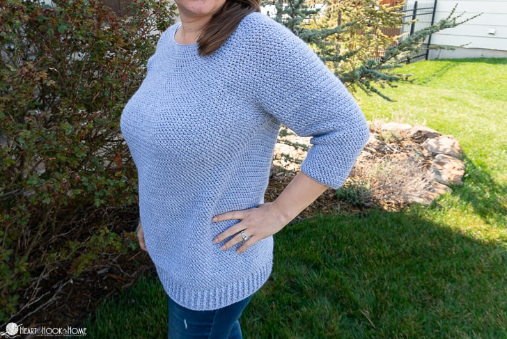 Easy top down sweater pattern