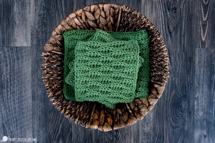 Almond Ridges Cloth Crochet Patterns