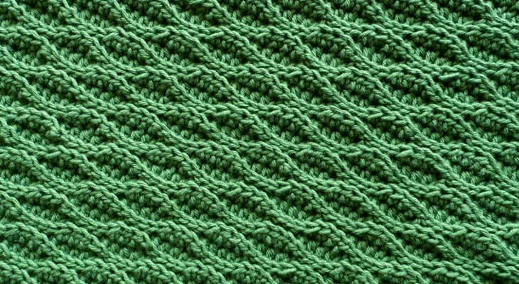 almond ridges crochet stitch tutorial